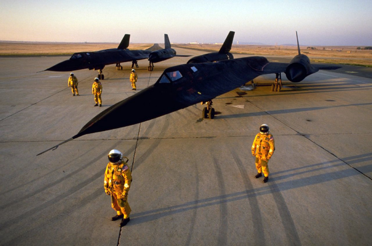Lockheed A-12 reconnaissance plane high speed stealthy