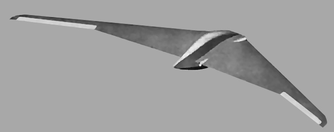 Loral Western Development Labolatories Frontier Systems W570 WS570A stealthy stealth UAV unmanned aerial vehicle reconnaissance surveillance