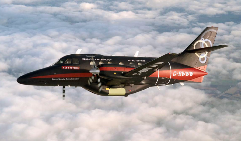 BAE Systems Jetstream technology research flying test bed