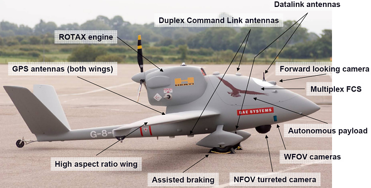 BAE Systems Herti 1B UAV unmanned reconnaissance aerial air vehicle aircraft prototype J6 Fregata