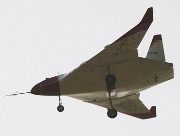 Kestrel BAE Systems Cranfield university UAV BWB blended wing body unmanned experimental plane aircraft vehicle