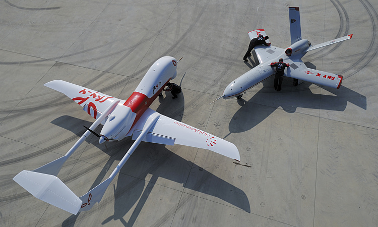 Alenia SkyLynx Sky-Y Sky-X UAV UCAV technology demonstrator prototype unmanned vehicle
