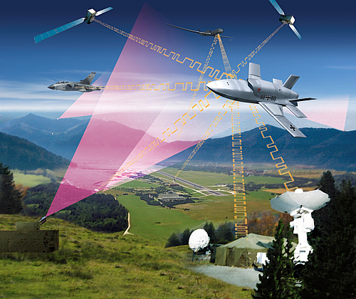 EADS Barracuda UCAV UCAS demonstrator unmanned Agile NCE UAV Within Network Centric Environments stealth