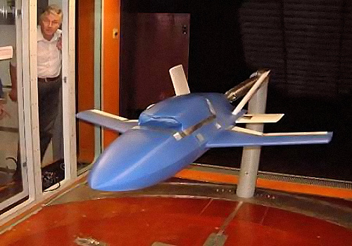 EADS Barracuda UCAV technology demonstrator prototype german umnanned combat air vehicle wind tunnel model stealthy