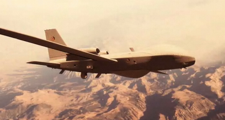 EADS Talarion UAV UAS unmanned vehicle concept advanced reconnaissance MALE mediul altitude long endurance
