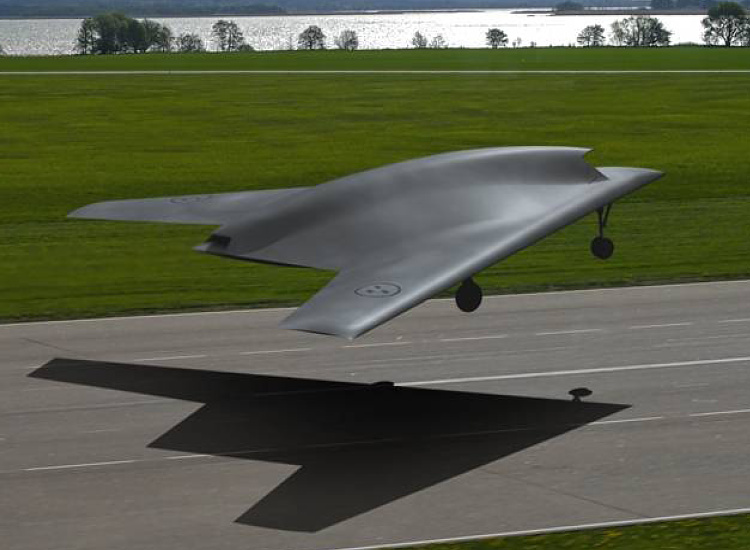 Dassault SAAB Alenia nEUROn UCAV UCAS european demonstrator stealth stealthy low observable technologický demonštrátor bezpilotného bojového lietadla