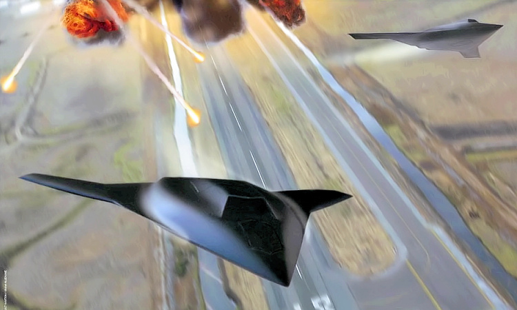 Dassault Grand Duc UCAV UCAS supersonic stealth tailess unmanned demonstrator