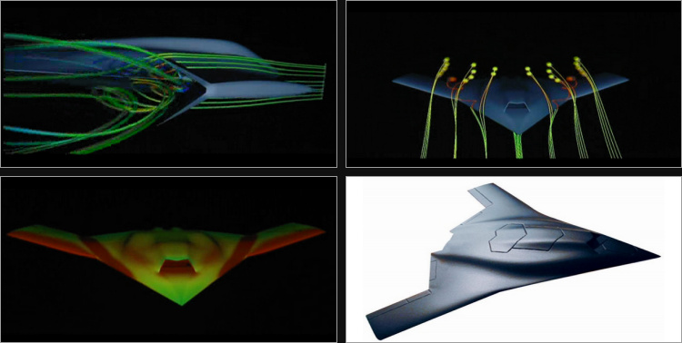 Dassault Grand Duc UCAV UCAS unmanned combat air vehicle stealth tailess supersonic demonstrator nuclear bomber
