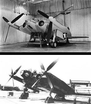 Vought XF5U-1 experimental navy fighter