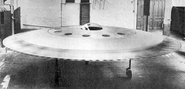 René Couzinet Aerodyne RC-360 disc flying saucer france french