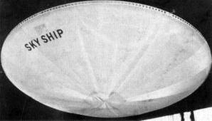Skyship Airship disc flying saucer
