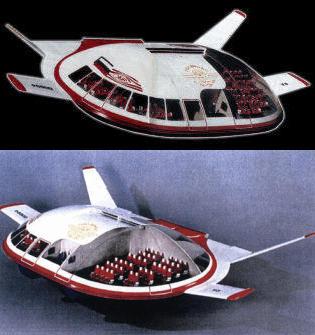 EKIP Tarielka saucer shaped aircraft plane Lev Sukhin UFO IFO