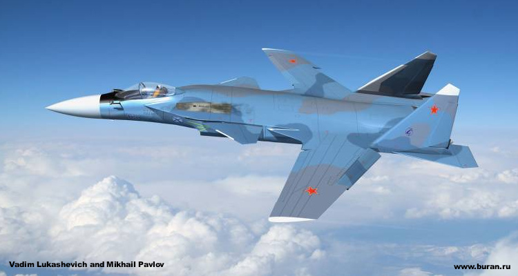 Sukhoi Suchoj Su-27KM FSW forward swept wing naval heavy fighter soviet