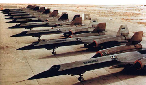 Lockheed A-12 together