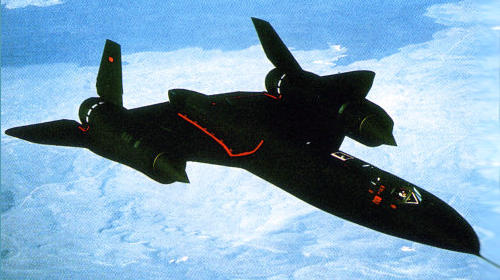 Lockheed SR-71 Senior Crown