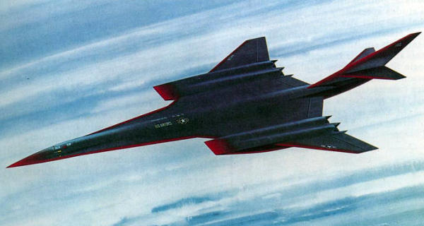 Lockheed 1985 study SR-71 replacement high speed hypersonic reconnaissance plane spy
