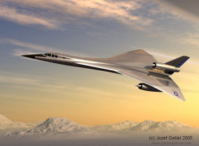 Lockheed advanced manned strategic aircraft study proposal bomber