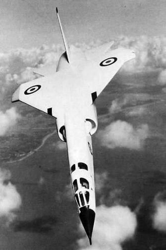 BAC English Electric TSR.2 supersonic british bomber