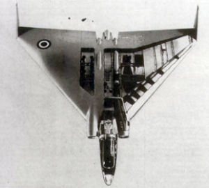 Avro Vulcain flyingwing bomber