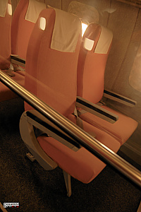 Tupolev Tu-144 seat supersonic passanger aeroplane photo