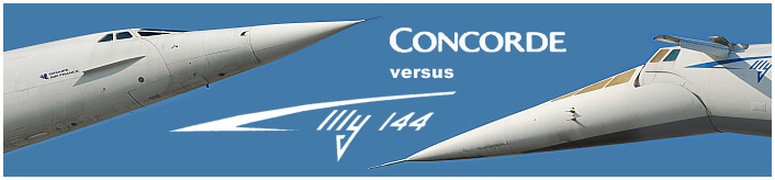 Concorde versus Tu-144 supersonic passanger plane aircraft soviet anglo-french photos pictures details