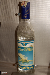 Tupolev Tu-144 special vodka alcohol supersonic passanger aeroplane photo