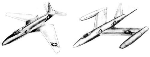 Lockheed post war fighters study