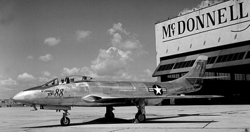 McDonnell XF-88 Voodoo fighter plane aircraft Model 36