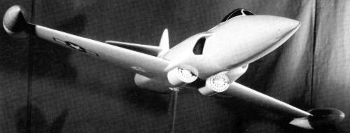 Lockheed XF-90 XP-90 fighter