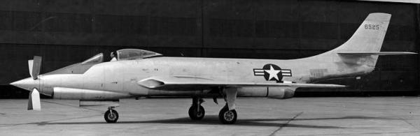 McDonnell XF-88B supersonic propeller experimental aircraft