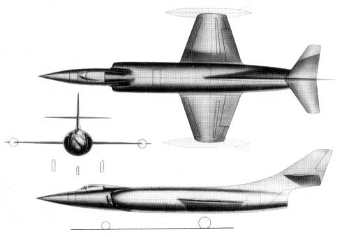 Lockheed CL-246 fighter project