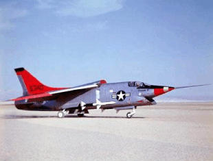 Vought XF8U-3 Crusader III very advanced navy fighter