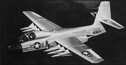 Douglas F6D-1 Missileer project missile launcher fighter navy naval