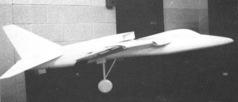 Boeing TFX proposal model 818 818N early mockup