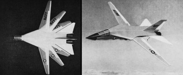 Grumman F-111B U. S. Navy fighter experimental TFX proposal program