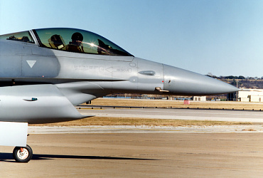 Lockheed Martin General Dynamics F-16 DSI Divertless Supersonic Inlet JSF F-35 testbed low observable stealth fighter