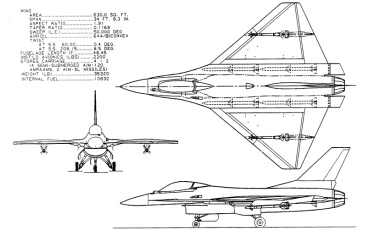 Lockheed Martin General Dynamics F-16AT Falcon 21 advanced fighter study diamond delta wing stealthy