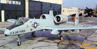 Fairchild Republic YA-10A attack plane prototype