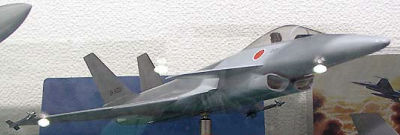 FS-X original configuration fighter JASDF