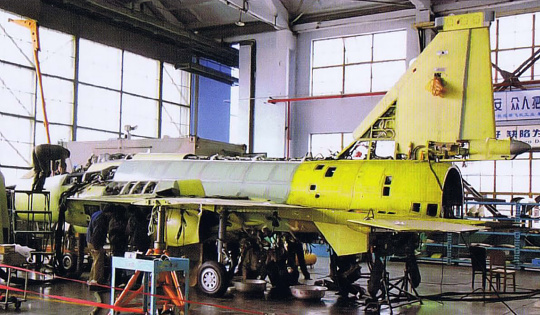 Chengdu PAC FC-1 fighter PLAAF china JF-17 4th prototype construction
