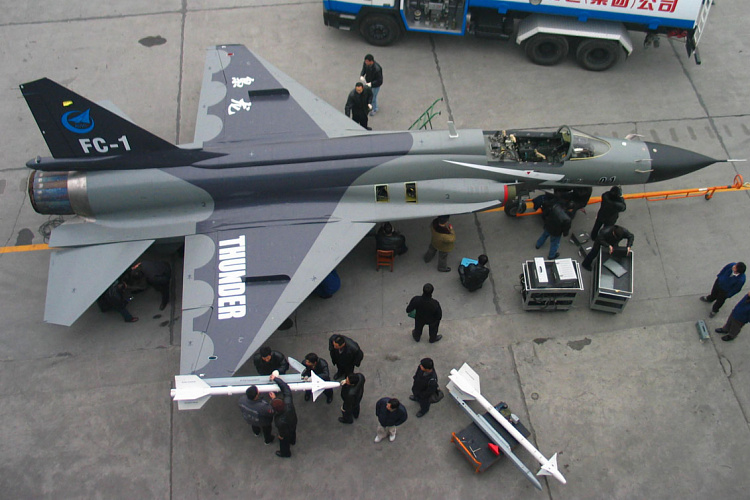 Chengdu PAC FC-1 JF-17 fighter first prototype PLAAF pakistan china Super 7
