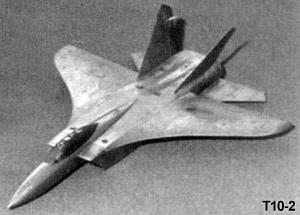 Sukhoi T10-2 classical concept fighter istrebitel proposal