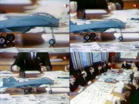 MiG-29 LPFI early ljogkij light fighter istrebitel proposal model