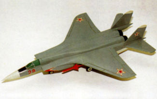 MiG-29 heavy interceptor TPFI fighter 1972 istrebitel