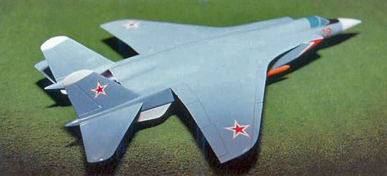 MiG-29 TPFI proposal istrebitel heavy fighter model soviet