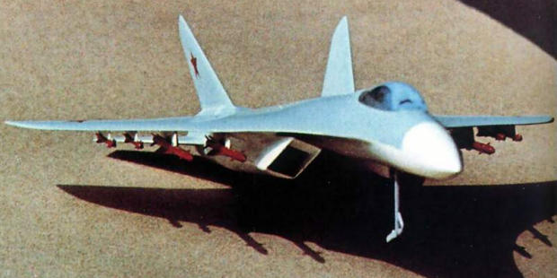 Suchoj Sukhoi T10-1 TPFI schema 7A heavy perspective tactical fighter interceptor plane aircraft soviet military istrebitel