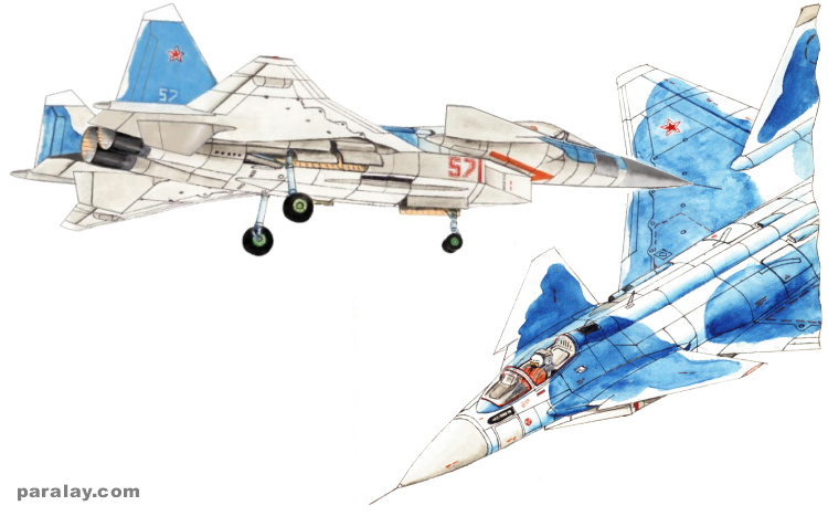 MiG 512 MFI izdelije 5.12 istrebitel mnogofunkcionalnyj frontovoj multirole 5th generation fighter soviet russian advanced stealthy stealth I-90 project program MiG-39
