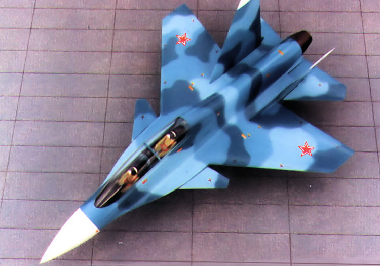 Sukhoi S-55 S-54 light fighter LFS samoljot