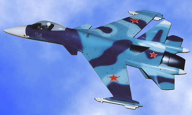 Sukhoi S-56 light fighter LFS samoljot