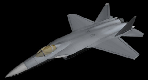 Suchoj T-50 PAK FA Su-47 based what-if